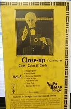 Fedko School of Magic Series Volume 3 Close Up Cups Coins & Cards vhs video tape