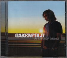 PAUL OAKENFOLD A Lively Mind CD Album 2006 NEUWARE Club/Elektro Klassiker !