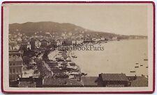 Cannes Côte d'Azur France Cdv Vintage albumine ca 1865