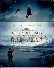 MISS PEREGRINE'S HOME FOR PECULIAR CHILDREN SteelBook Japan Import w/Cards