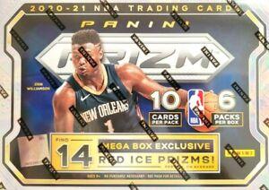 SAN ANTONIO SPURS 2020-21 PANINI PRIZM NBA MEGA 2BOX BREAK