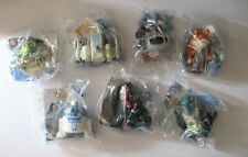 Star Wars Episode III Revenge of the Sith Burger King Toy Figurines Set of 7 NOS