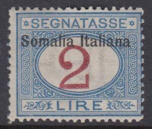 Italy Somalia Tax Sassone n.20 cv 840$ SUPER CENTERED  MH*