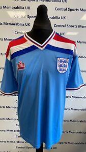 England 1982 Remake Retro Shirts Home Away & 3rd (Red, White & Blue) Free P & P