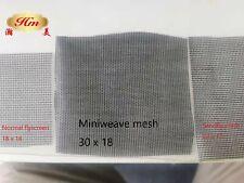 miniweave mesh, midge mesh, Flyscreen,Fywire,1220mm Per Metre 30 x 18