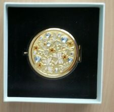 Vanity Fair Compact Mirror by Aurora Designs Celebrate Gold New in Box