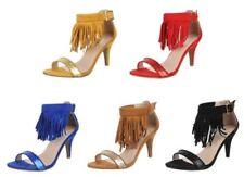 Damen-Pumps im Stilettos-Stil mit normaler Weite (E) - Fransen