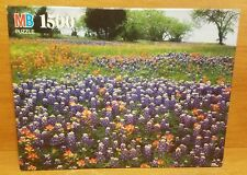 MB York HILL COUNTRY, TX 1500 Piece Puzzle, 4335-19, 1992, Excellent