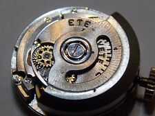 ETERNAMATIC AUTOMATIC WATCH MOVEMENT CAL 1420 WITH DIAL HAND HANDS