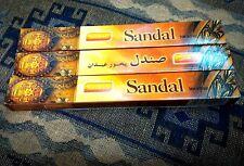 *3 Packs* of SANDESH - SANDAL sandalwood incense sticks - Made in INDIA