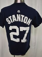Majestic MLB Youth Boys New York Yankees Giancarlo Stanton Shirt LOOK S,M,L,XL