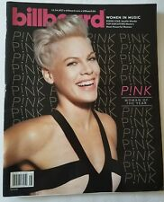 P!nk Billboard Magazine Women in Music 2013 Women In Music  FREE SHIPPING NEW