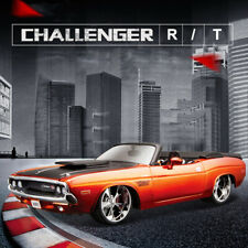 1/24 American Muscle Car Model Dodge Challenger R/T 1970 Convertible Sports Cars