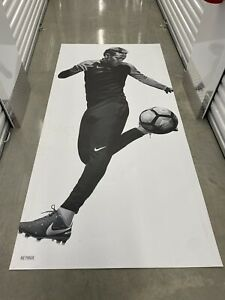 Nike Promotional Magnetic Neymar Poster HUGE