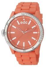 EDC by Esprit Rubber Starlet - Light Salmon EE100922011 Analog  Silikon Orange