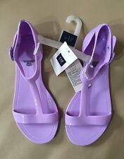 GAP KIDS T-Strap Jelly Sandals in Fresh Lavender (US J5)