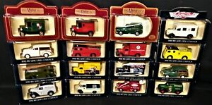 Job Lot of 16 Different Model Lledo Days Gone Vanguard Vehicles & ProMotor Vans