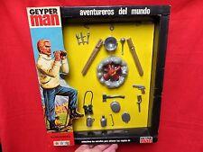 1964 VINTAGE GI JOE GEYPERMAN  JOEZETA:  1975  AVENTURERO ACCESSORIES   BOXED