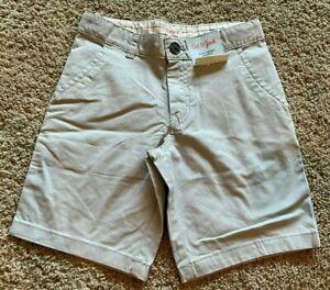 Boys Masonry Gray Flat Front Cat & Jack Shorts Size 10