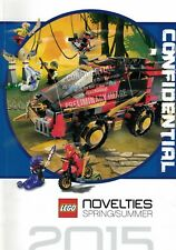 LEGO Dealer Catalogue - Novelties Spring/Summer 2015 - RARE!! - Tracked UK P&P