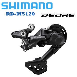 SHIMANO DEORE RD M5120 Rear Derailleur 10s 11 Speed SGS LONG Cage MTB Bike