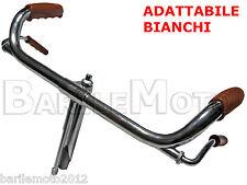 """Manubrio Cromato Bici Epoca R / Bacchetta 26 """" -  28 """" ADATTABILE BIANCHI"""