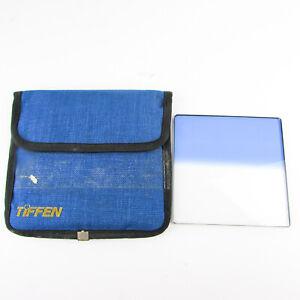 TIFFEN 4x4 100mm Filter Clear / Blue 2 Soft Graduated Pro Glass Cine