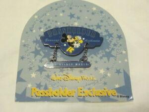 2002 PASSHOLDER EXCLUSIVE WALT DISNEY WORLD PIN MICKEY MOUSE