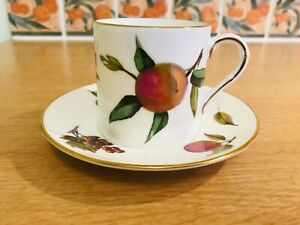 Royal Worcester  - Arden - Coffee Cup & Saucer x 2