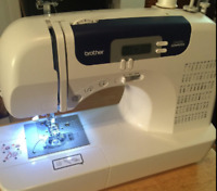 Computerized Sewing Machine Quilting 60 Built-In Stitches LCD Auto Needle Thread