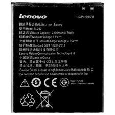 Lenovo Batería de Litio Original BL242 para A6000 K3 Pila Recargables