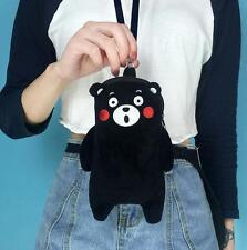 New Super Cute For KUMAMON Bear Plush Phone Bag Coin Bag Purse Card Holder Gifts