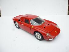 FERRARI 250 LM RED 1:18 DIECAST CAR MODEL BY HOT WHEELS 23914
