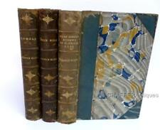 George ELIOT Stereotyped Edition 1895  Volumes III, V and VI in Half Leather