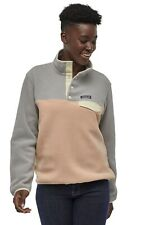 Patagonia Synchilla Lightweight Snap-T Fleece Pullover Women's Rosewater M,L,XL