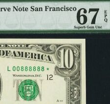 Amazing & lucky serial # 888888 on an '88 STAR note ( 1988-A $10 )