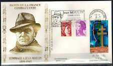 1983-Fdc-Enveloppe Philatélique 1°Jour-J.Moulin-Thonon-Timbre Yt.1941/65/2184