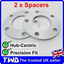 5MM ALLOY WHEEL SPACERS - VW BEETLE (2011+) 5x112/ 57.1MM HUB-CENTRIC SHIM [2NX]