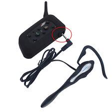 1200M Bluetooth BT Motorcycle Helmet Intercom Earhook Earphone for referee judge