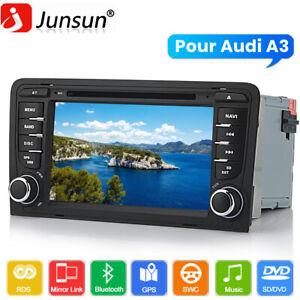 "DAB+ 2Din 7""Autoradio GPS Navigation Pour Audi A3 2003-2012 BT DVD/CD Player RDS"
