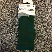 NEW Smartwool Mens Hike Medium Weight Merino Wool Crew Socks - Green - Large