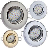 Einbau-Strahler GU10 230V / GU5,3 Schwenkbar Downlights Deckenstrahler LED ML750