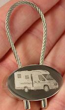 Adria Compact SL Schlüsselanhänger Wohnmobil Keyring Camper Fotogravur