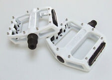 Wellgo b087u-Flat / plataforma Mountain Bike Pedales-Blanco