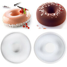 Round Donut Cake Mold Silicone Mould Muffin Chocolate Mousse Pan Baking Tool