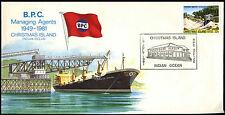 Christmas Islands 1981 Managing Agents BPG Cover #C37065