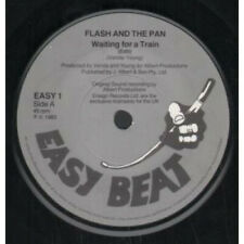 """FLASH AND THE PAN Waiting For A Train 7"""" VINYL UK Easy Beat Edit"""