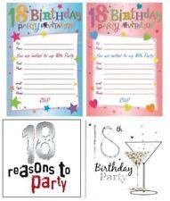 Cartes de vœux et papeterie anniversaire 18 ans