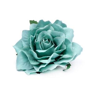 Rose Flower Bridal Hairpin Hair Clip Brooch Women Wedding Bridesmaid Accessories