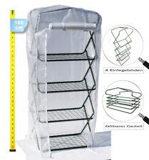 Invernaderos de plástico plegable 160 cm Rejilla de aluminio Huerto protegido